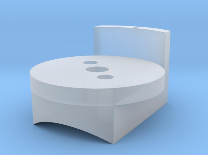 DL-44 ANH Scope Wheel Base 3d printed
