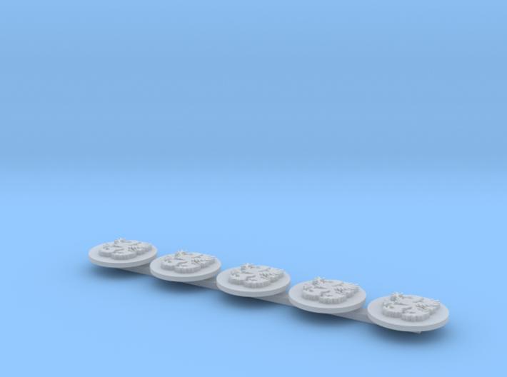 Griffons Drop Pod Icons L 3d printed