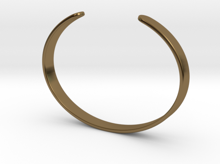 Cuff Bracelet – Narrow 3d printed