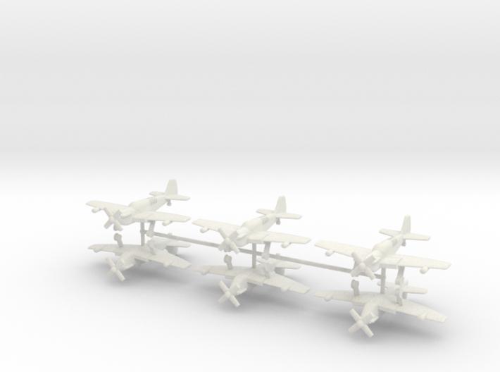 1/144 Fairey Firefly (x6) 3d printed