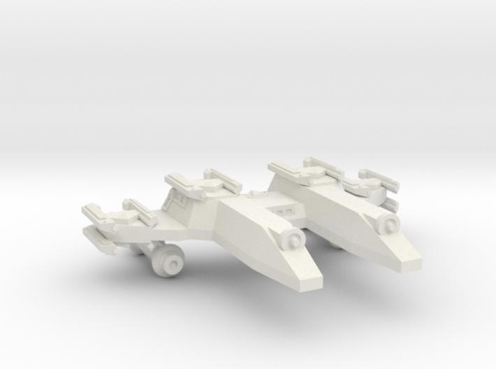 3788 Scale Lyran PF/Gunboat Tender CVN 3d printed