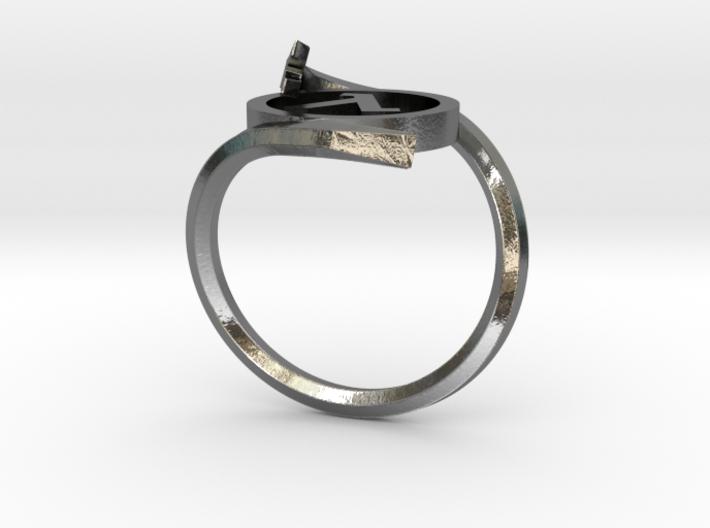 Half-life Ring 3d printed
