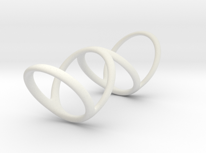 Ring for Bob L1 1 1-4 L2 1 3-4 D1 8 D2 9 3-4 D3 10 3d printed
