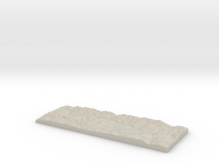 Model of Leinuna 3d printed