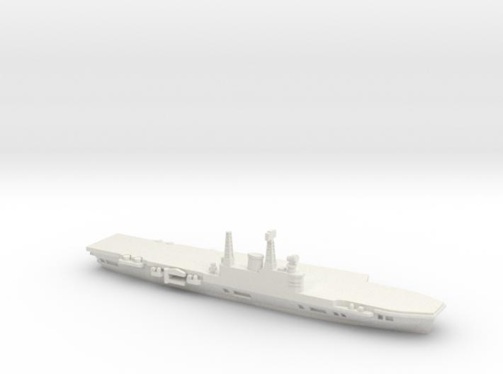 HMS Eagle R05 (1971), 1/2400 3d printed