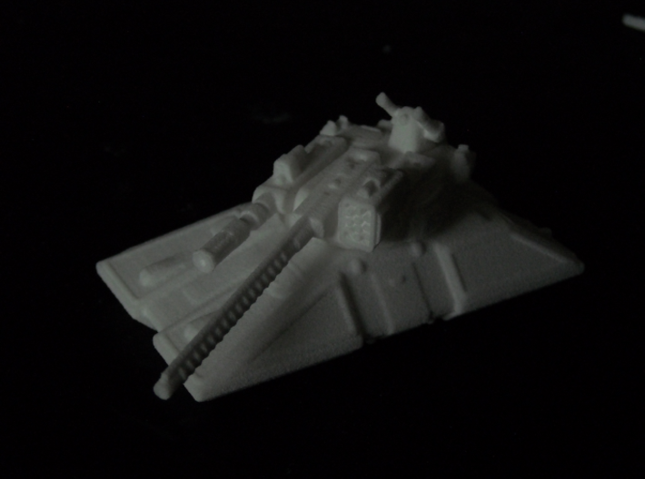 MG144-HE004 Eques Battle Tank 3d printed Showing all turrets