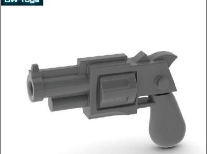 10 Miniature Revolvers 3d printed Description