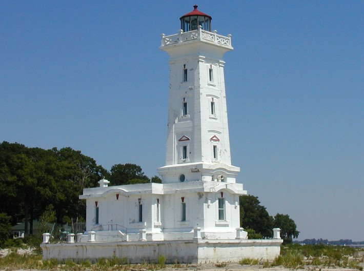 Point Abino Lighthouse 3d printed Point Abino Light house