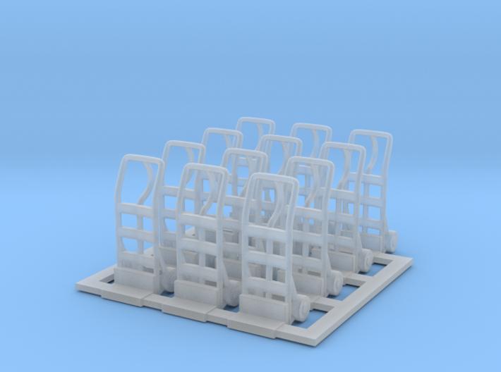 Handtruck 01. 1:48 Scale 3d printed
