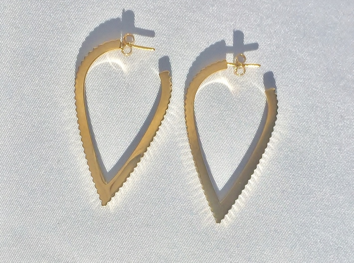 Ingranaggi Pinnacle Earrings for DDW17 3d printed