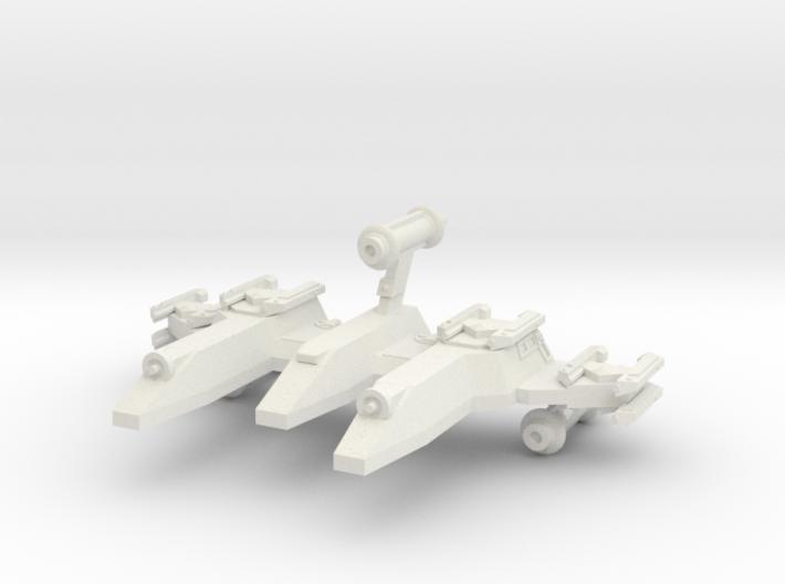 3788 Scale Lyran War PF/Gunboat Tender CVN 3d printed