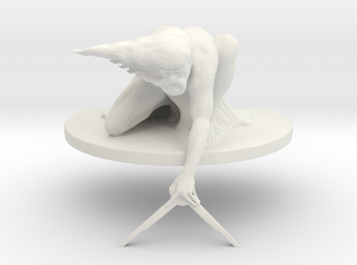 The Ancient of Days Statuette 3d printed
