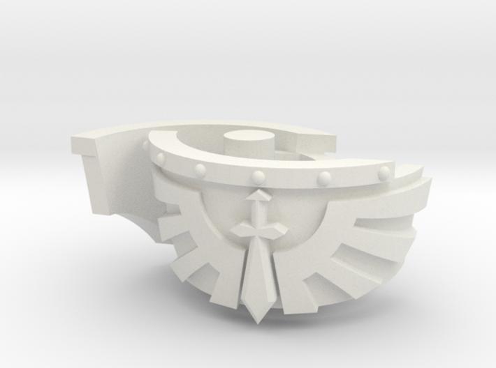 Kataphraktos Shoulder Pad - Angel Sword - Left set 3d printed