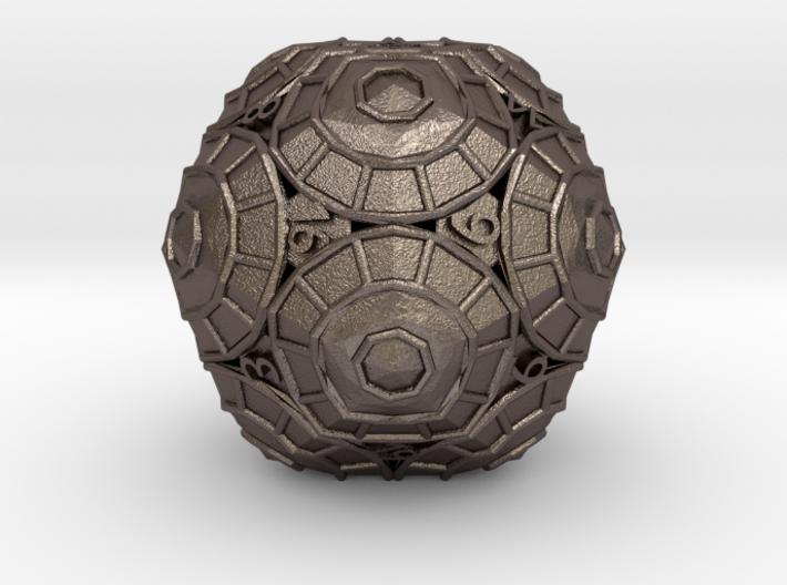 D20 Balanced - Shield 3d printed