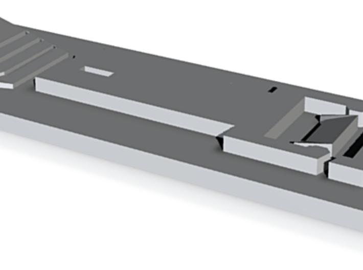 ODST BELT PLATE FLAT 3d printed