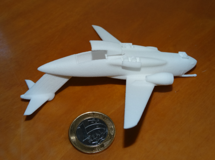 022E KC-390 350 WITH LANDING GEAR 3d printed