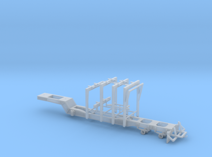 1/64th Pitts type 42' four bunk log trailer 3d printed