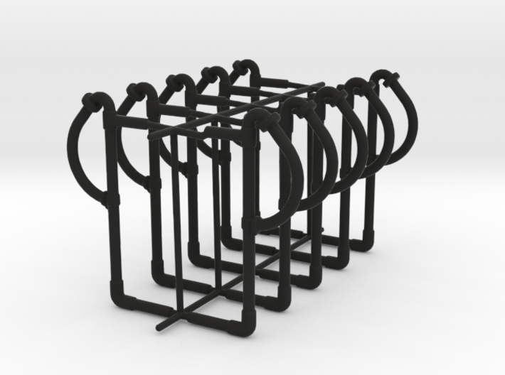 set of 10 standard vaccum pipes 3d printed