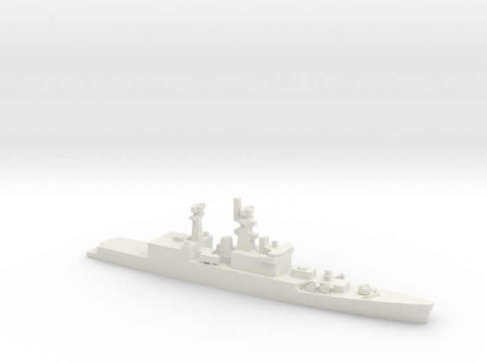 Brahmaputra-class frigate, 1/1800 3d printed