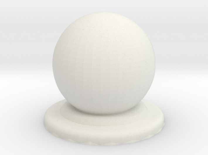 Sphere Piece Smoother 3d printed