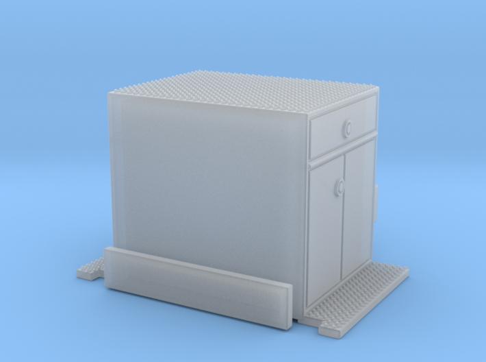 1/160 Crown Snorkel Cabinet 3d printed
