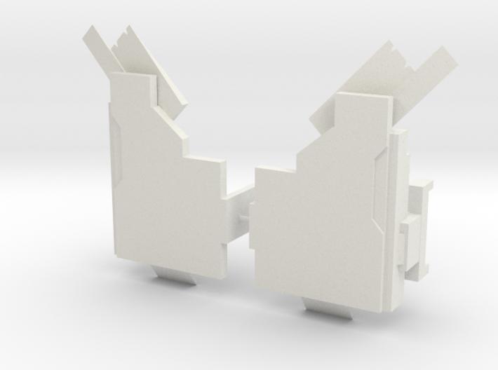 Titan Emperor's shoulder pads 3d printed