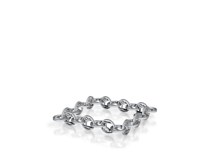 "yoga jewelry bracelet 8"" approx. 3d printed"
