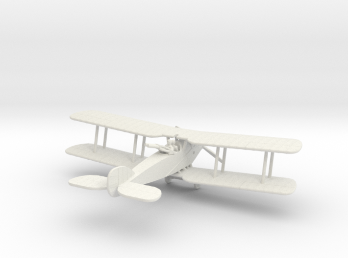 Bristol F.2B Fighter (Twin Lewis) 3d printed 1:144 Bristol Fighter in WSF