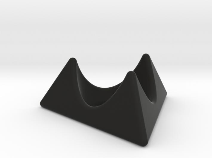 Klingon egg cup holder 3d printed