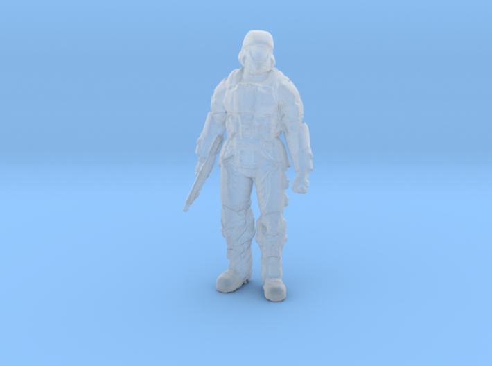 UNSC Orbital Drop Shock Trooper ODST HALO 3d printed
