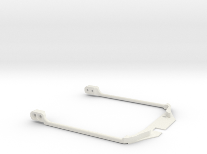 MC3 KMD-FR01 T-Plate Chassis Tri-Damper Upgrade 3d printed