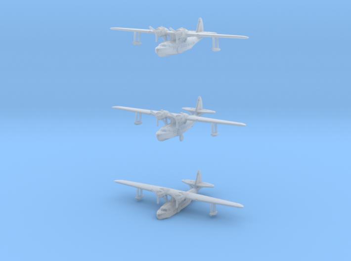 Sikorsky S-43 1/700 scale set 3d printed
