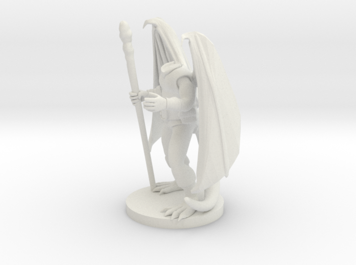 Dragonborn Druid 3d printed