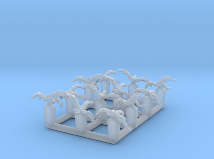 (Armada) 12x Mynocks (1/270) 3d printed