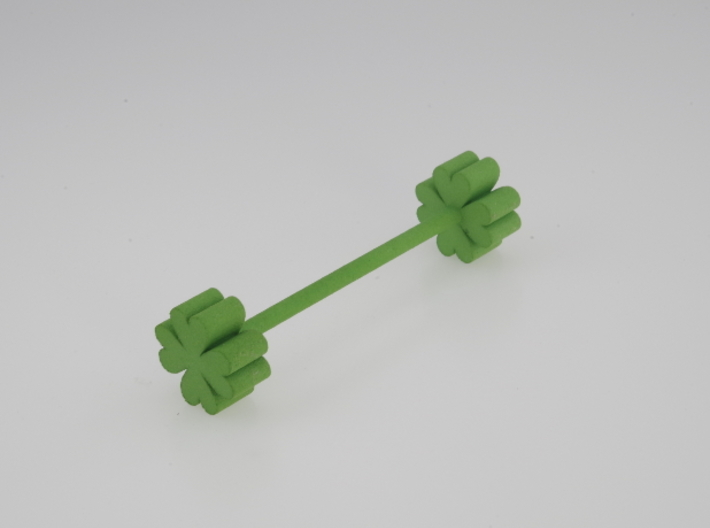 Knife rest & Cutlery rest Four-leaf clover 3d printed
