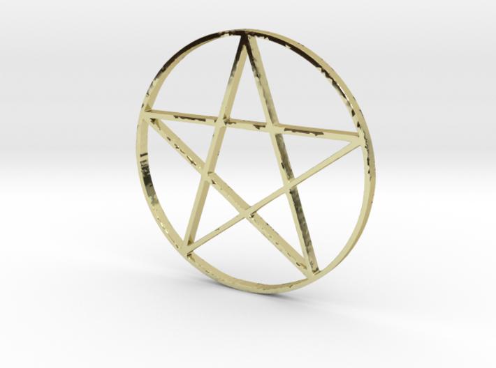 Large Pentagram (Pentacle) 3d printed