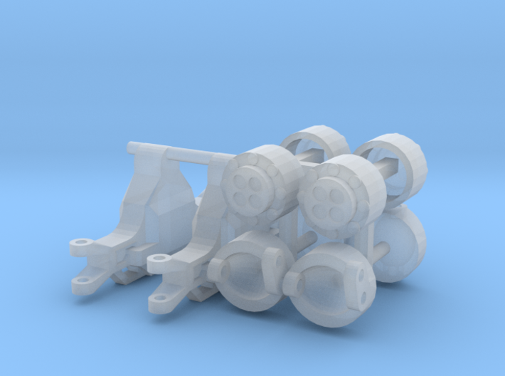 1/64 NH Front Axle 3d printed