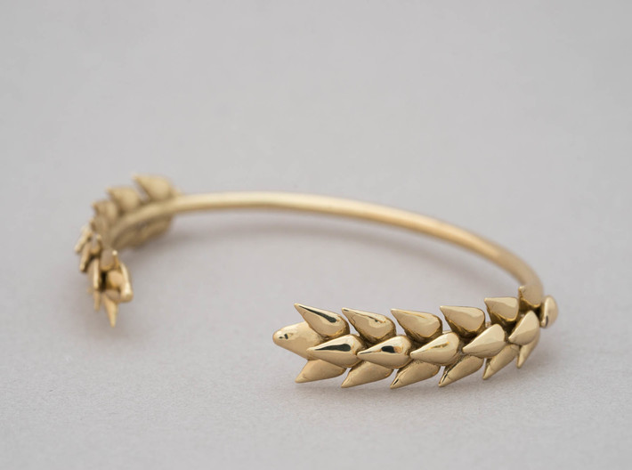 Wheat Bracelet 3d printed