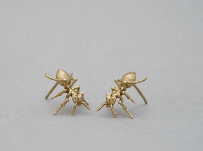 Little Ant Post Earring 3d printed
