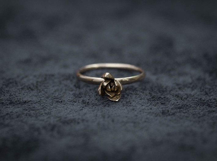 Succulent Stacking Ring No. 1 3d printed