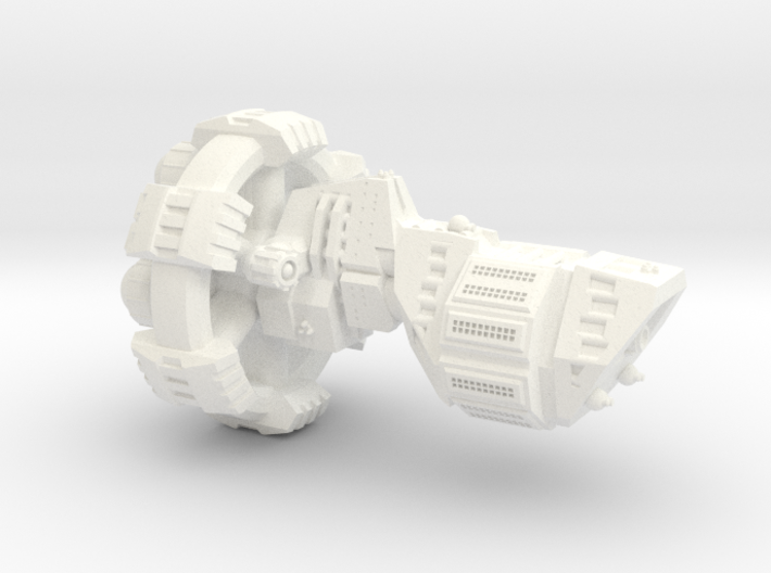Agil Strike Cruiser - 1:10000 3d printed