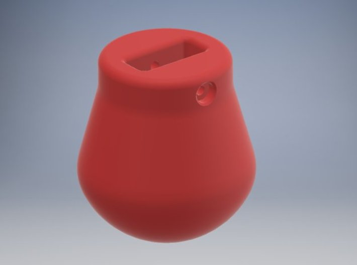 1-87 - 2500KG Wrecking ball Peer Shape 3d printed