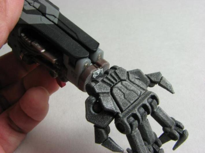 ROTF Leader Starscream poseable hands 3d printed Mounted.