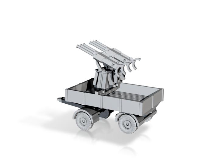 1/144 Flak trailer Drilling 3d printed