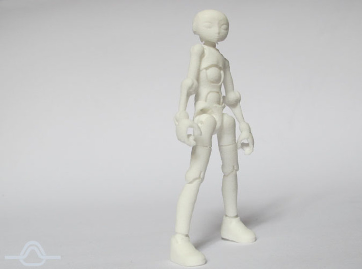 Ersatz MkII action figure Male Body 3d printed