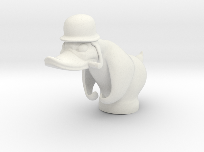 Angry Duck 3d printed