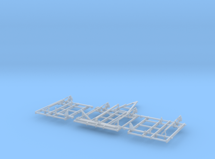 1/64 28 and 30ft field cultivator frame (part 1 of 3d printed