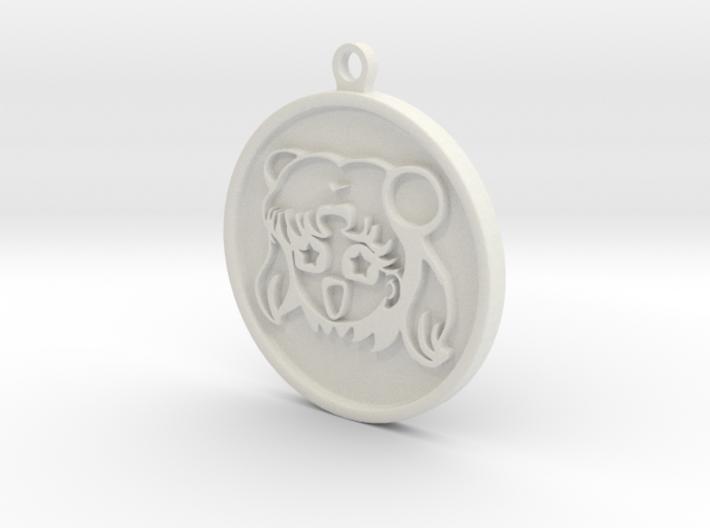 anime girl keychains 3d printed
