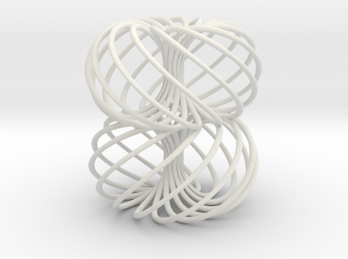 Double Spiral Torus 13/8 3d printed