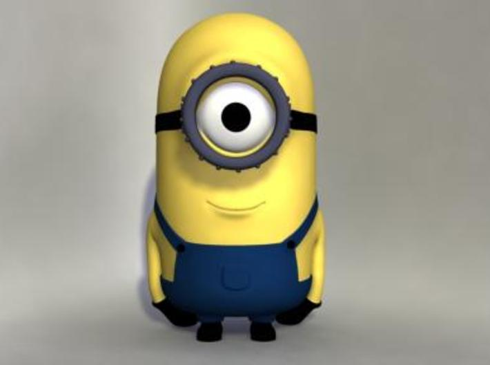 Minion 3d printed 3D Render